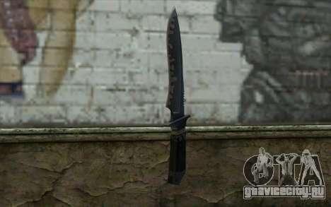 Knife from CS:S Bump Mapping v2 для GTA San Andreas