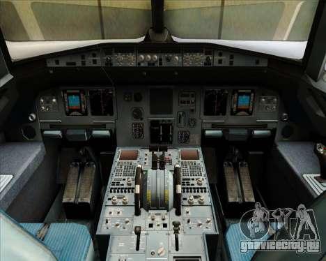 Airbus A320-212 Condor для GTA San Andreas салон