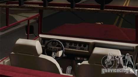Canis Bodhi V1.0 Rusty для GTA San Andreas вид сзади слева