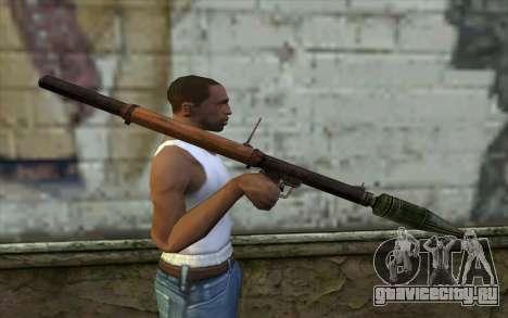 РПГ-2 (Battlefield: Vietnam) для GTA San Andreas третий скриншот
