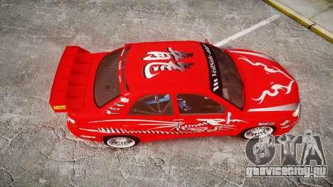 Subaru Impreza WRX STI Street Racer для GTA 4 вид справа