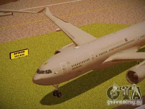 Airbus KC-45A (A330-203) Australian Air Force для GTA San Andreas вид изнутри