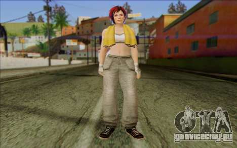 Mila 2Wave from Dead or Alive v16 для GTA San Andreas