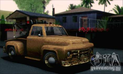 GTA 5 Towtruck Worn для GTA San Andreas