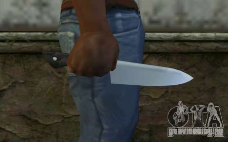Kitchen Knife from Hitman 2 для GTA San Andreas третий скриншот