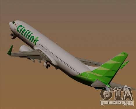 Boeing 737-800 Citilink для GTA San Andreas колёса