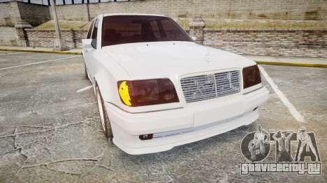 Mercedes-Benz E500 1998 Tuned Wheel White для GTA 4