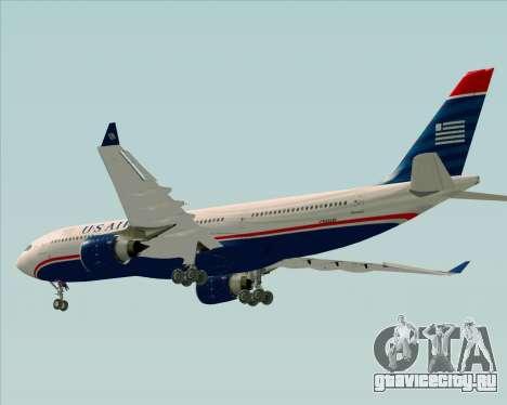 Airbus A330-200 US Airways для GTA San Andreas двигатель