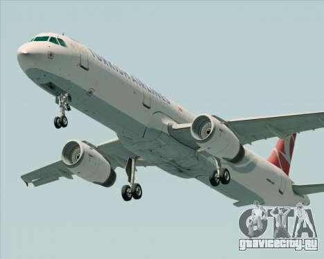 Airbus A321-200 Turkish Airlines для GTA San Andreas вид сбоку