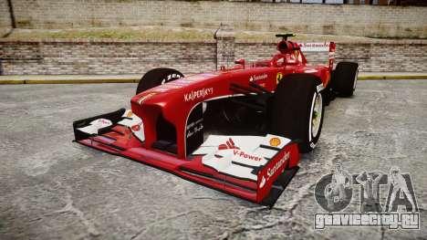 Ferrari F138 v2.0 [RIV] Massa TMD для GTA 4