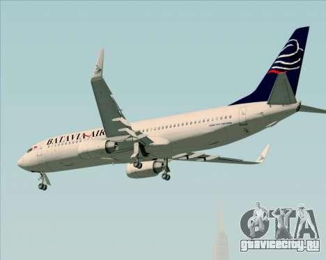 Boeing 737-800 Batavia Air для GTA San Andreas двигатель