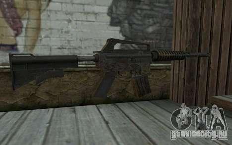 CAR-15 from Battlefield: Vietnam для GTA San Andreas второй скриншот