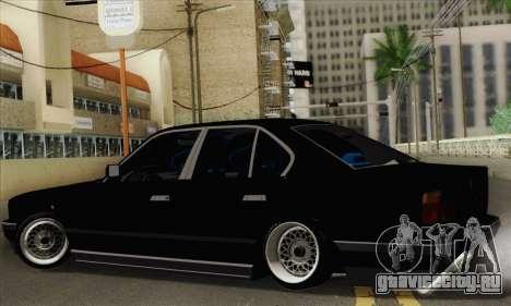 BMW 535 JDM Bosnia для GTA San Andreas вид слева