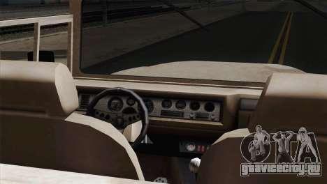 Canis Bodhi V1.0 Army для GTA San Andreas вид сзади слева
