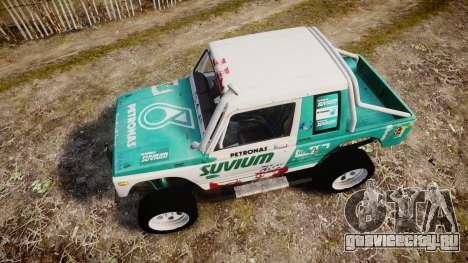 Suzuki Samurai для GTA 4 вид справа
