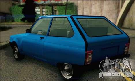 Oltcit Club 12 TRS для GTA San Andreas вид слева