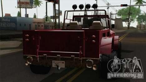Canis Bodhi V1.0 Rusty для GTA San Andreas вид слева