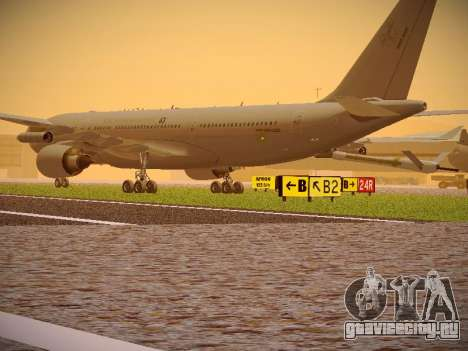 Airbus KC-45A (A330-203) Australian Air Force для GTA San Andreas вид справа