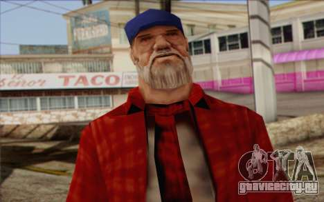 Vagabonds Skin 3 для GTA San Andreas третий скриншот