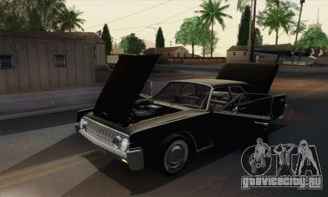 Lincoln Continental Sedan (53А) 1962 для GTA San Andreas