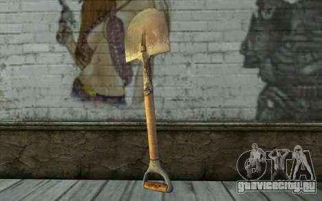 Лопата (DayZ Standalone) для GTA San Andreas второй скриншот