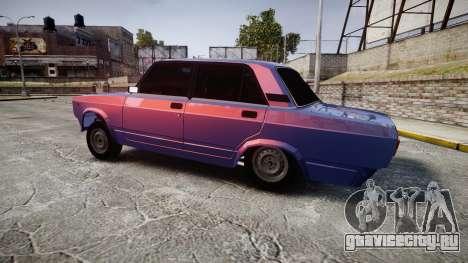 ВАЗ-2105 хулиганский стиль для GTA 4 вид слева