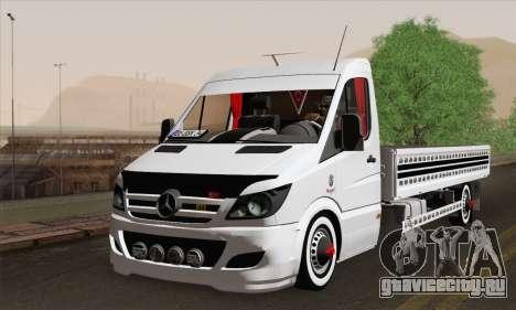Mercedes-Benz Sprinter Etiket Kamyonet для GTA San Andreas