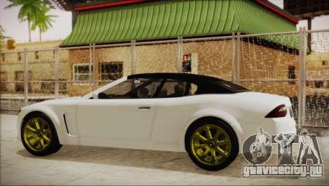 Lampadati Felon GT для GTA San Andreas вид сзади слева