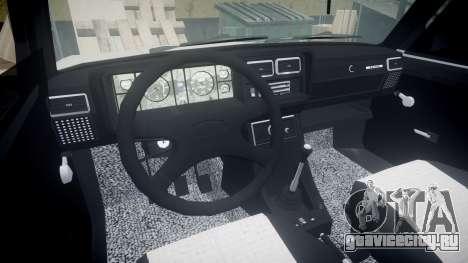 ВАЗ-2107 азербайджанский стиль для GTA 4 вид сзади