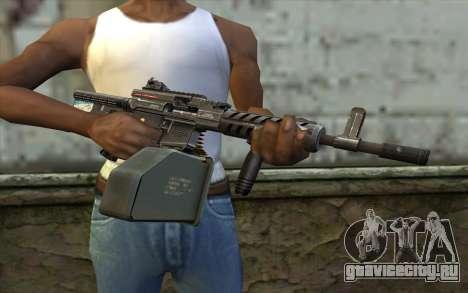 Пулемет Ares Shrike для GTA San Andreas третий скриншот