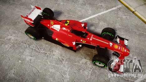 Ferrari F138 v2.0 [RIV] Massa TIW для GTA 4