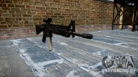 Винтовка M16A4 ACOG для GTA 4
