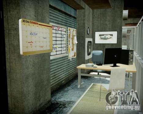 Гараж с новым интерьером в Алкогвине для GTA 4 одинадцатый скриншот