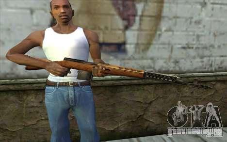 СВТ-40 для GTA San Andreas третий скриншот
