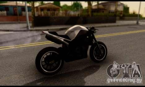 TBOGT Akuma для GTA San Andreas вид сзади слева