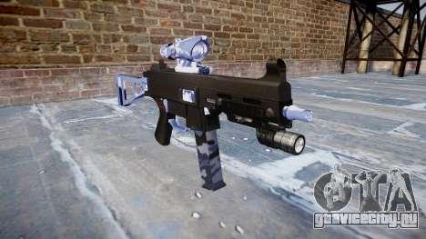 Пистолет-пулемёт UMP45 Blue Tiger для GTA 4