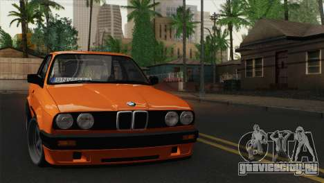 BMW M3 E30 Coupe 1987 для GTA San Andreas