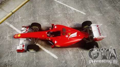 Ferrari 150 Italia Track Testing для GTA 4 вид справа