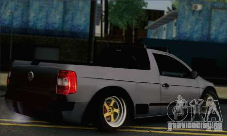 Volkswagen Saveiro Slammed для GTA San Andreas вид слева