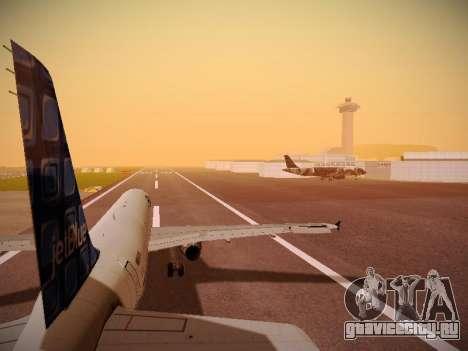 Airbus A321-232 jetBlue Blue Kid in the Town для GTA San Andreas