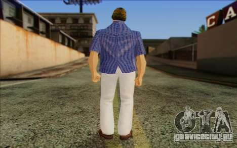 Vercetti Gang from GTA Vice City Skin 1 для GTA San Andreas второй скриншот