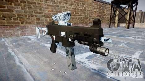 Пистолет-пулемёт UMP45 Skulls для GTA 4
