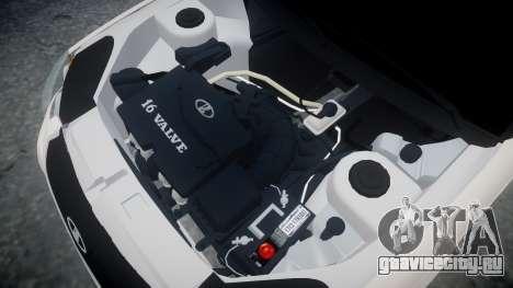 ВАЗ-2172 Приора Vossen для GTA 4 вид изнутри