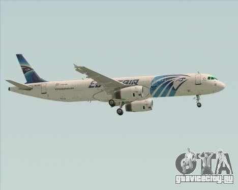 Airbus A321-200 EgyptAir для GTA San Andreas вид сбоку