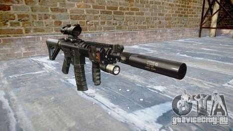Автомат Tactical M4A1 CQB для GTA 4