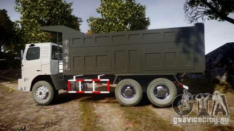 HOWO Truck для GTA 4 вид слева