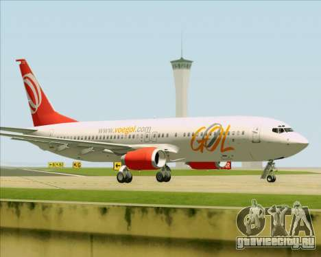 Boeing 737-800 Gol Transportes Aéreos для GTA San Andreas вид сбоку