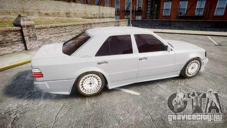 Mercedes-Benz E500 1998 Tuned Wheel White для GTA 4 вид слева