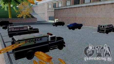 Новые транспортные средства в SFPD для GTA San Andreas