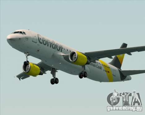Airbus A320-212 Condor для GTA San Andreas колёса